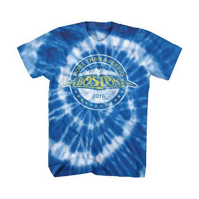 Boston Pre-Order More Than a Feeling Tie Dye T-shirt*