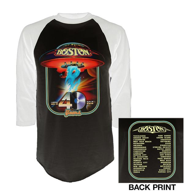 Boston 40th Anniversary Raglan T-Shirt