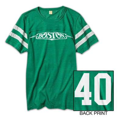 Boston 40th Anniversary Football Jersery Tee