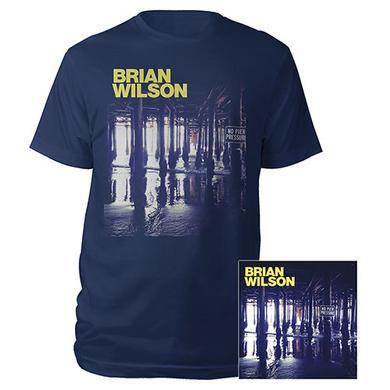 Brian Wilson No Pier Pressure CD Tee & Digital Album