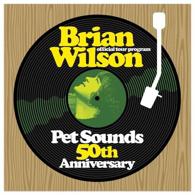 Brian Wilson Pet Sounds 50th Anniversary Tour Program