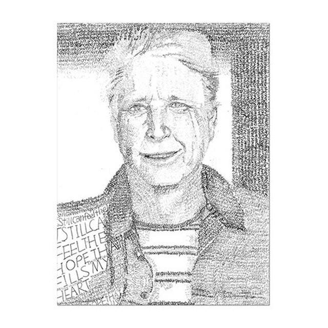 Brian Wilson Lyric Lithograph