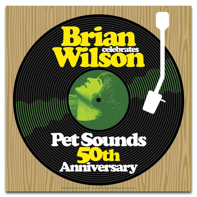 Brian Wilson 50th Anniversary Poster