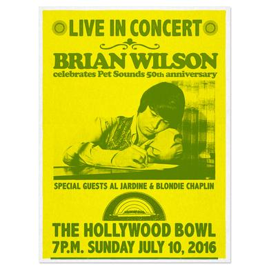 Brian Wilson Hollywood Bowl exclusive event poster