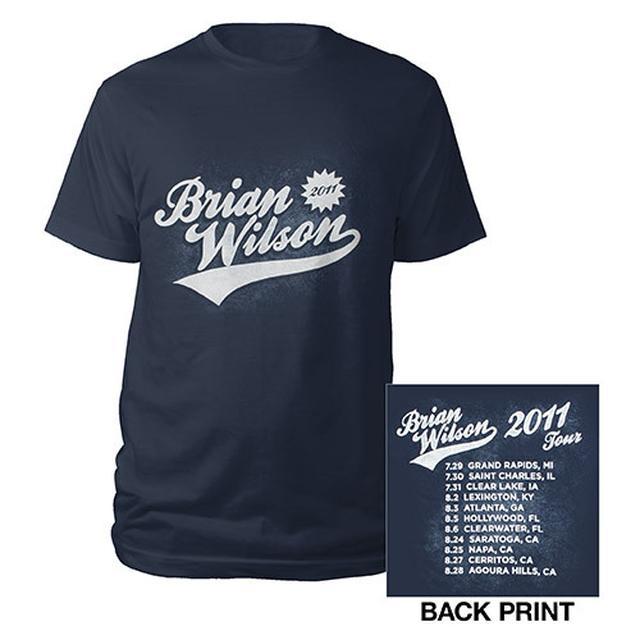 Brian Wilson Swept Tour Shirt
