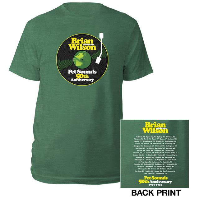 Brian Wilson Pet Sounds 50th Anniversary Tour Tee
