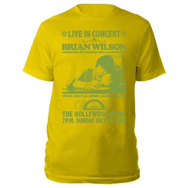 Brian Wilson Hollywood Bowl exclusive event tee