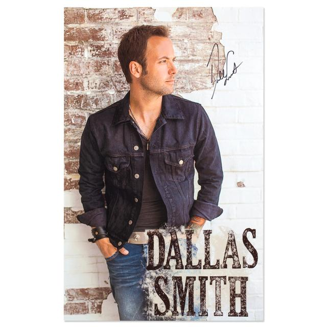 Dallas Smith HAND SIGNED Poster