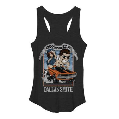 Dallas Smith Kids With Cars Racerback tank