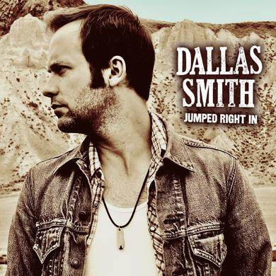 Dallas Smith Jumped Right In Hand Signed Vinyl