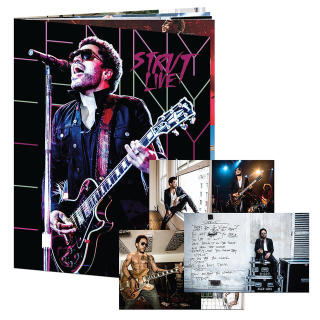 Lenny Kravitz Strut Tour Program
