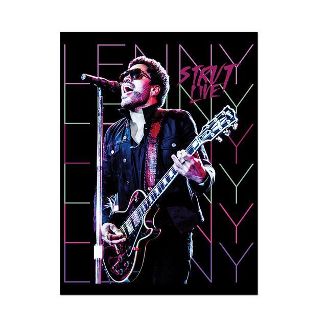 Lenny Kravitz Strut Live Poster