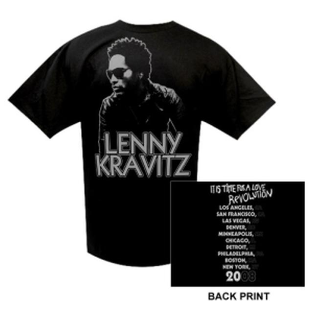 Lenny Kravitz Love Revolution Winter '08 Event Tee