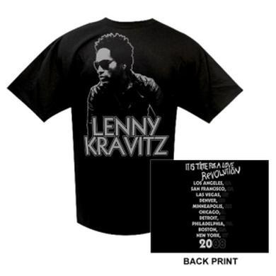Lenny Kravitz Love Revolution Winter '08 Event Tee