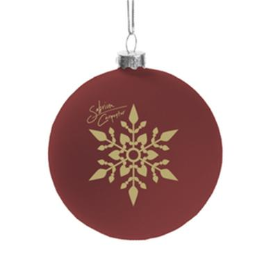 Sabrina Carpenter Red Ornament