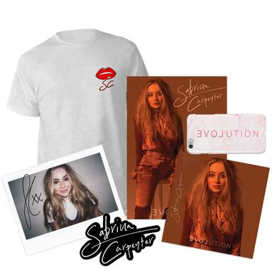 Sabrina Carpenter EVOLution One of a Kind Hand-Signed Polaroid Album Pre-Order Bundle