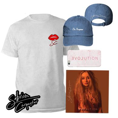 Sabrina Carpenter EVOLution Exclusive Merchandise Album Bundle