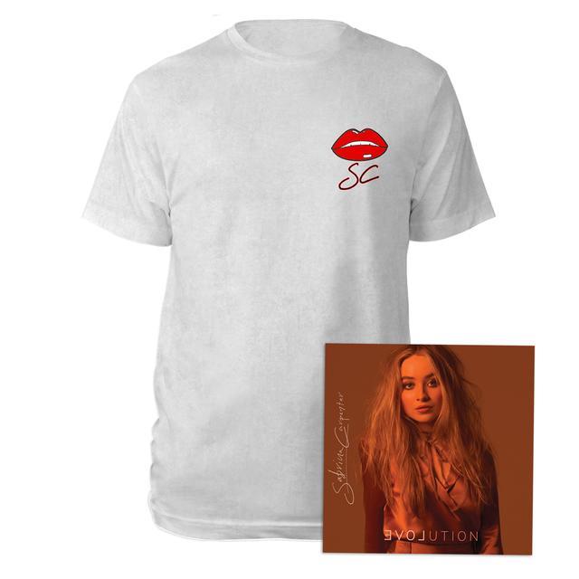 Sabrina Carpenter EVOLution CD & Tee Exclusive Bundle