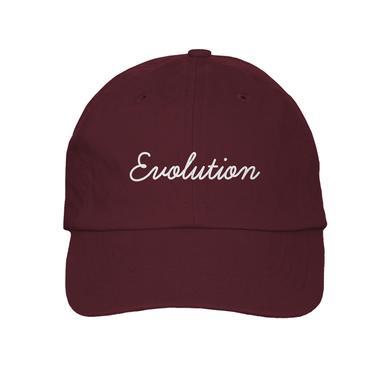 Sabrina Carpenter Burgundy Evolution Hat