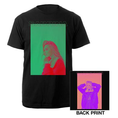 Sabrina Carpenter Pop Art photo tee