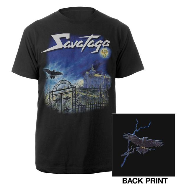 Savatage Poets and Madmen Album Cover Shirt