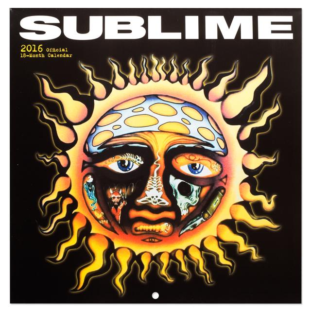 Sublime 2016 Calendar