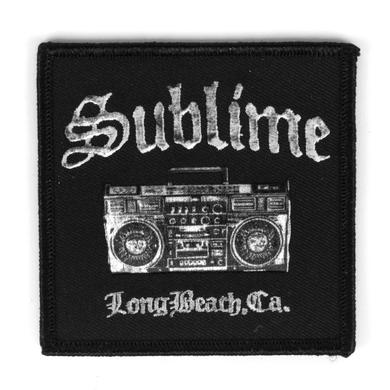 Sublime Boombox Patch