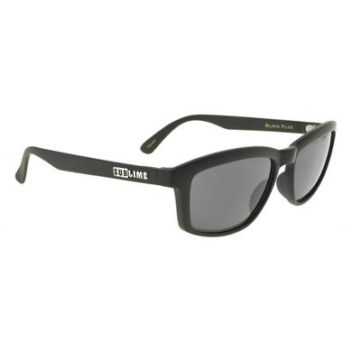 Shiny Black Bradley Fly Sublime Collab Polarized