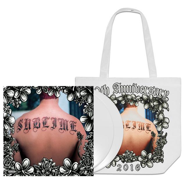 Sublime Commemorative 20th Anniversary White Vinyl & Tote Bag