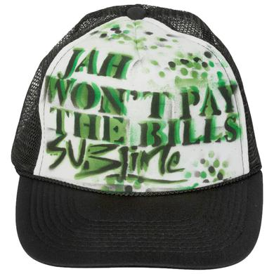 Sublime Jah wont pay the bills (black/white trucker)