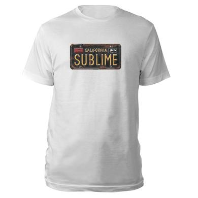 Sublime License Plate cover Tee