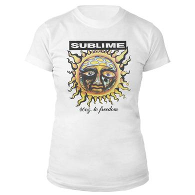 Sublime 40 oz to Freedom Women's tee