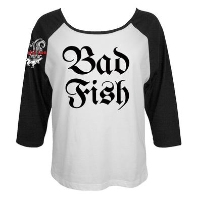 Sublime Limited Edition Bad Fish Ladies Raglan