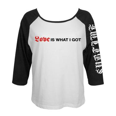 "Sublime Limited Edition ""What I got"" Ladies Raglan"