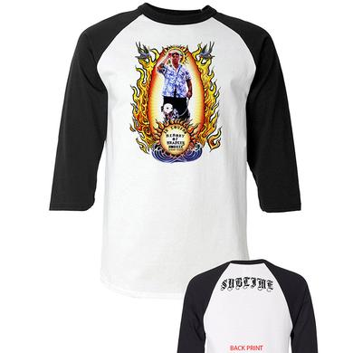 Sublime Tribute to Bradley Mens Raglan