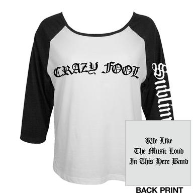 Sublime Crazy Fool Womens Raglan