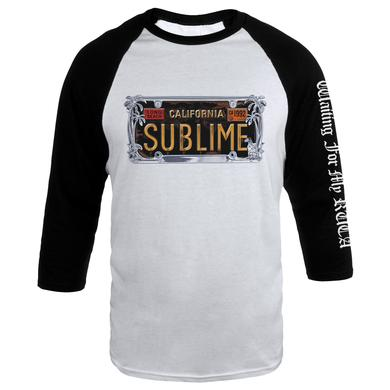Sublime License Plate Raglan