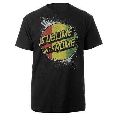 Sublime with Rome Rasta Circle Logo Tee