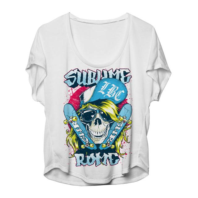 Sublime with Rome Skater Skull Women's Dolman