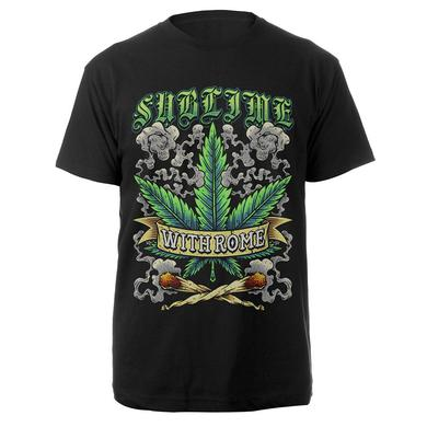 Sublime With Rome Pot Leaf Shirt