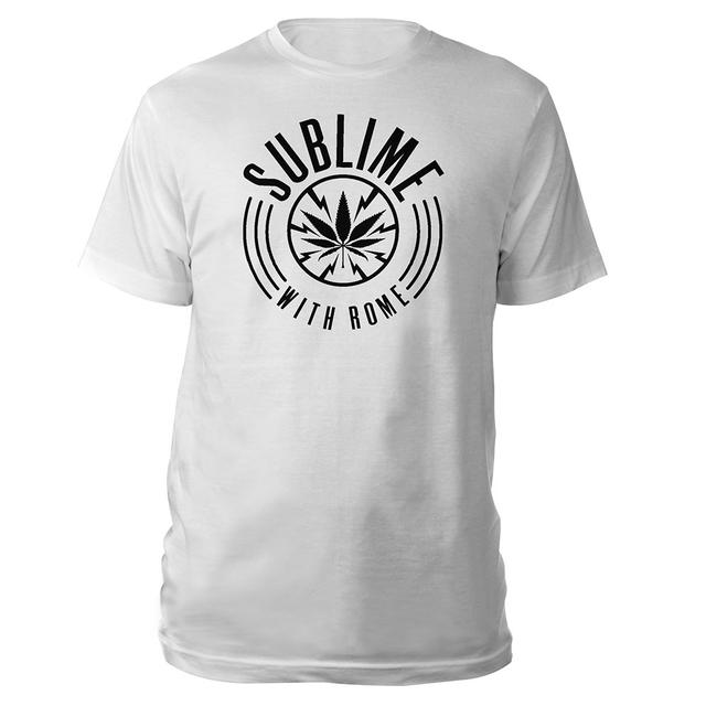 Sublime with Rome Pot Leaf Logo Tee