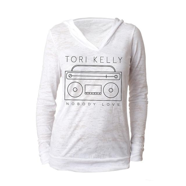 Tori Kelly Burnout V-Neck Hoody