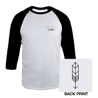 Tori Kelly Arrow Raglan Baseball Tee