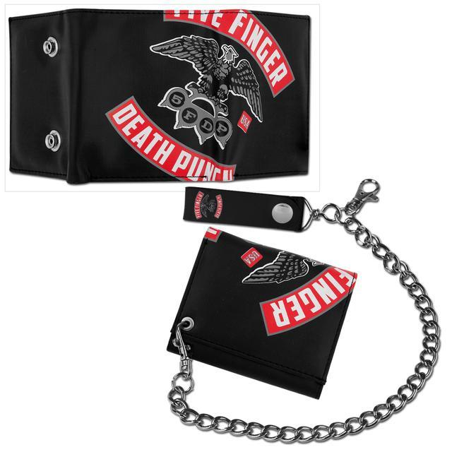 Five Finger Death Punch Eagle Knuckle Wallet