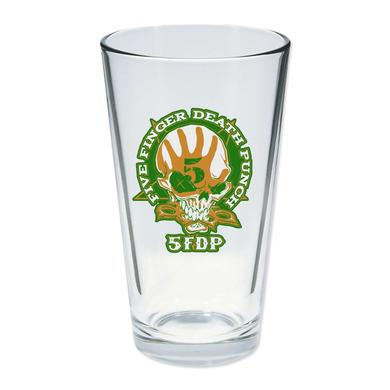 Five Finger Death Punch FFDP St. Paddy's Day Pint Glass