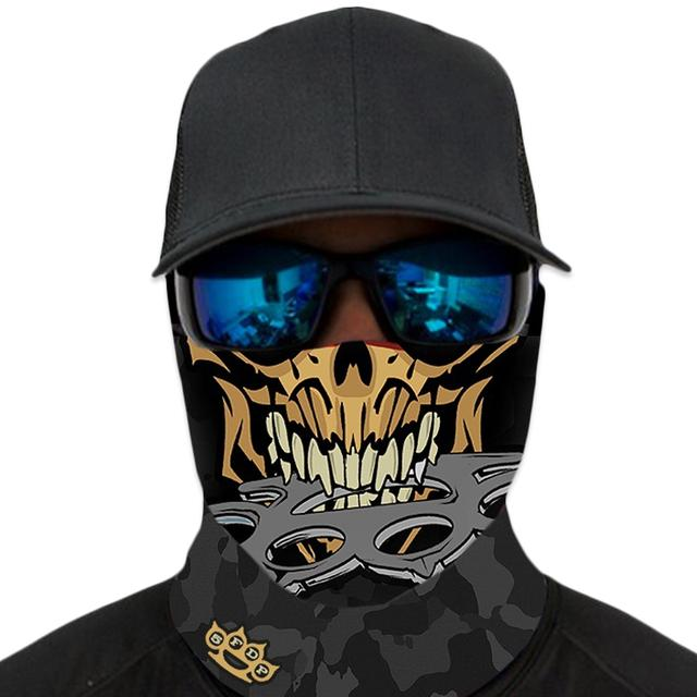 Five Finger Death Punch 5FDP Knucklehead Face Shield Mask