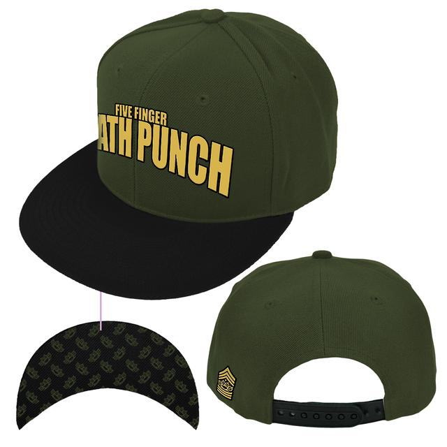 Five Finger Death Punch Stacked Logo Hat