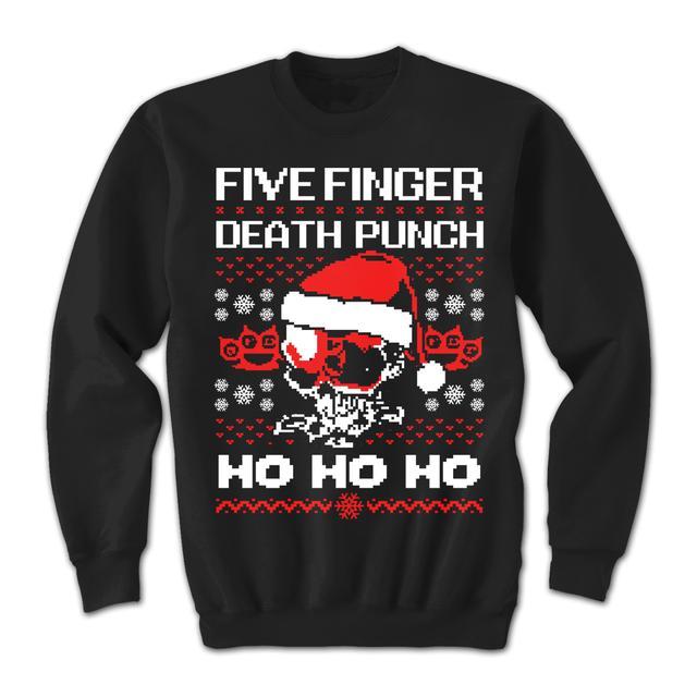 Five Finger Death Punch HO HO HO Crew Sweatshirt