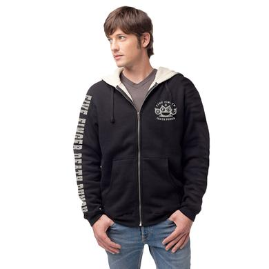 Five Finger Death Punch Knuckles Zip Hoodie