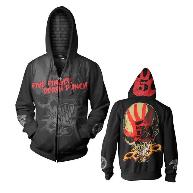 Five Finger Death Punch 5 Finger Death Punch Knucklehead Custom Hoodie